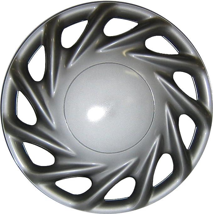 Radzierblenden 4er 15 Zoll Satz Suzuka schwarz 38,1 cm Cartrend  75175 Premium
