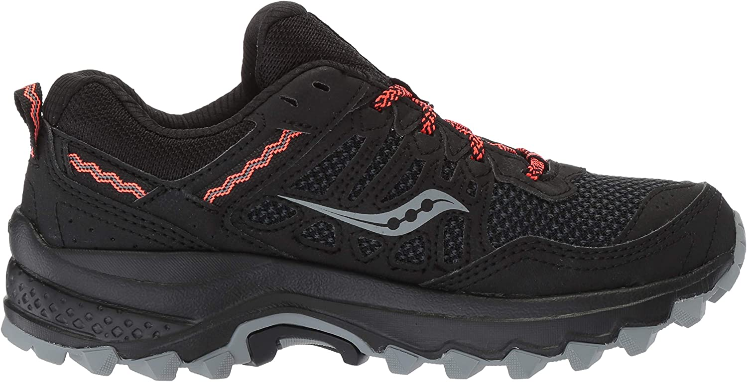Saucony Women's Excursion Tr12 GTX Training Shoes Black Black 001