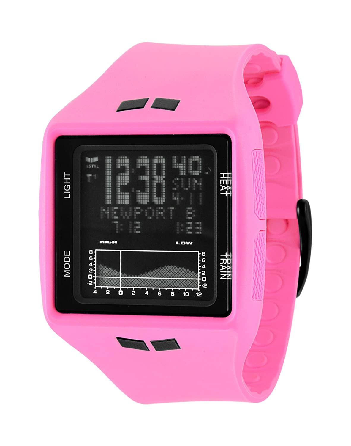 Vestal Unisex BRG015 Brig Tide and Train Hot Pink Uhr