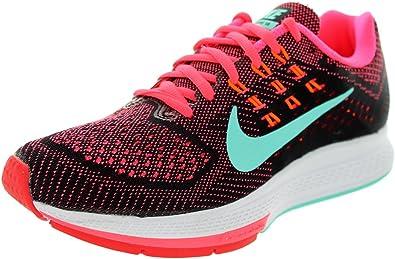 Ejecutar Revisión organizar  Nike Air Zoom Structure 18 unidad Mujer Guantes, PINK POW/BLACK-HT LV-LSR  O: Amazon.es: Zapatos y complementos