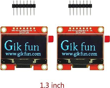 Gikfun IIC OLED - Módulo de Pantalla para Arduino Raspberry Pi ESP8266 Microcontrolador Arm DIY: Amazon.es: Electrónica