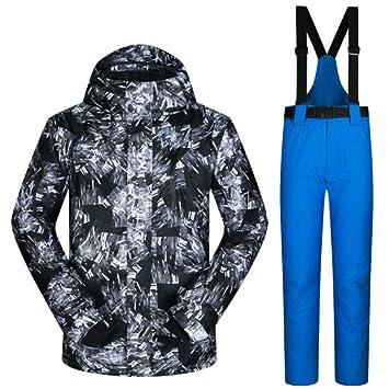 Zjsjacket Chaqueta de esqui Traje de esquí de los hombres de invierno nuevo  a prueba de 3f6ecf10f24