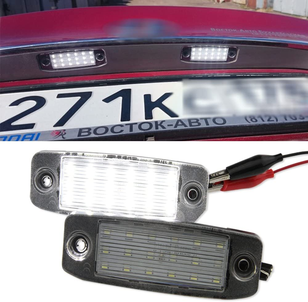 Led License Number Plate Light For Hyundai Sonata 10 Yf 10my Led Tail Lamp Bulb 2pcs License Plate Lights Amazon Canada
