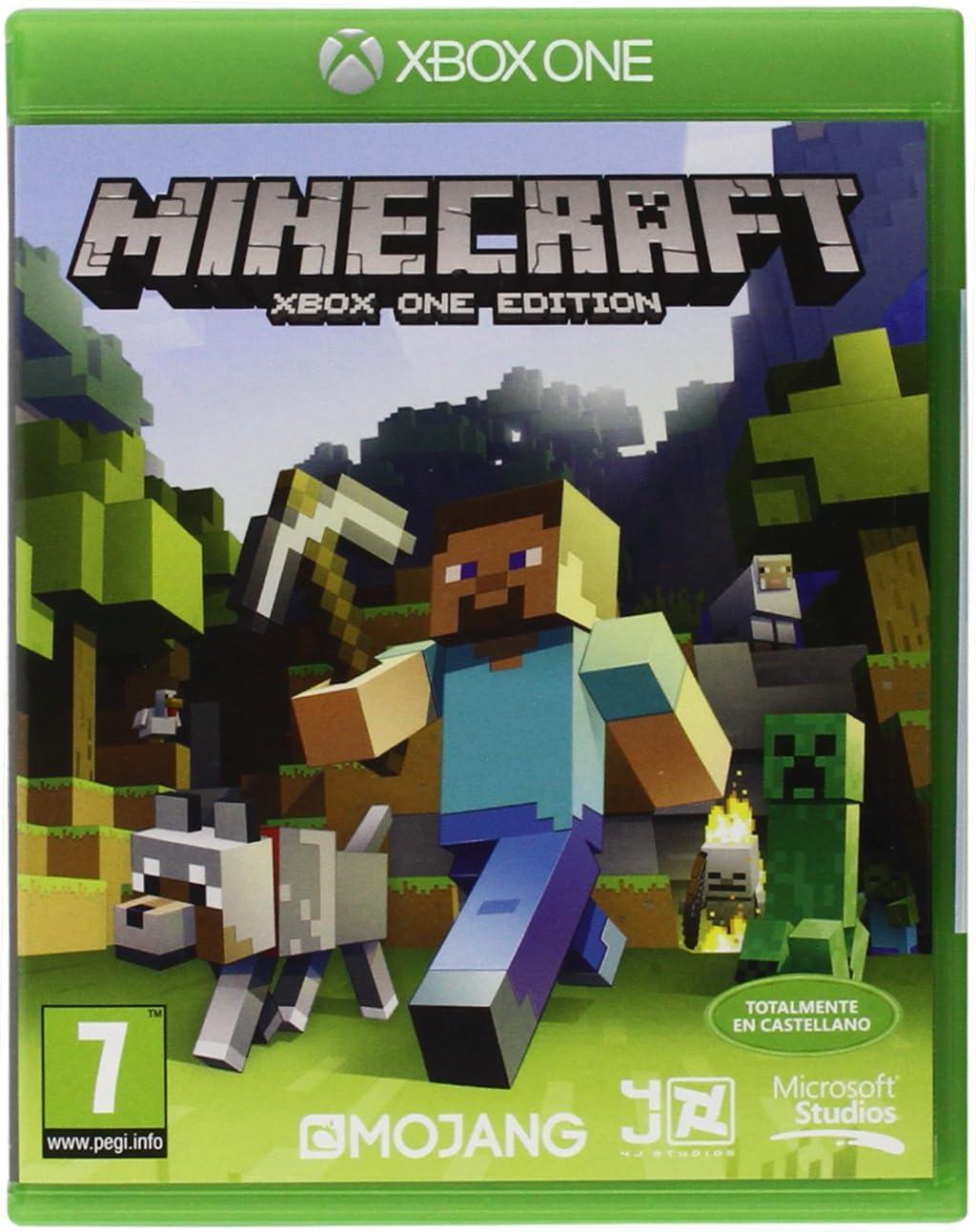 Minecraft - Edición Estándar, Xbox One, Disco, Versión 111