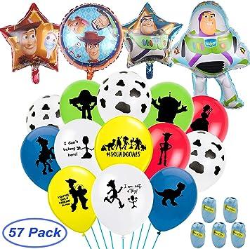 Amazon.com: Globos de fiesta de cumpleaños inspirados en la ...