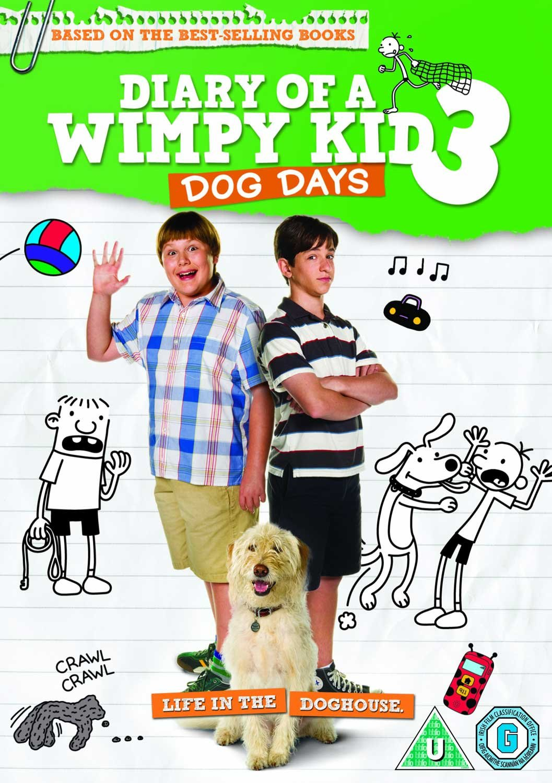 Amazon Com Diary Of A Wimpy Kid 3 Dog Days Region 2 Non Usa Format Uk Import Movies Tv