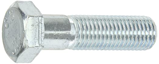 Meets DIN 931//ISO 898 M8-1.25 Metric Coarse Threads Pack of 25 Zinc Blue-Chromate Plated Finish Partially Threaded External Hex Drive 70mm Length Hex Head Class 8.8 Steel Cap Screw
