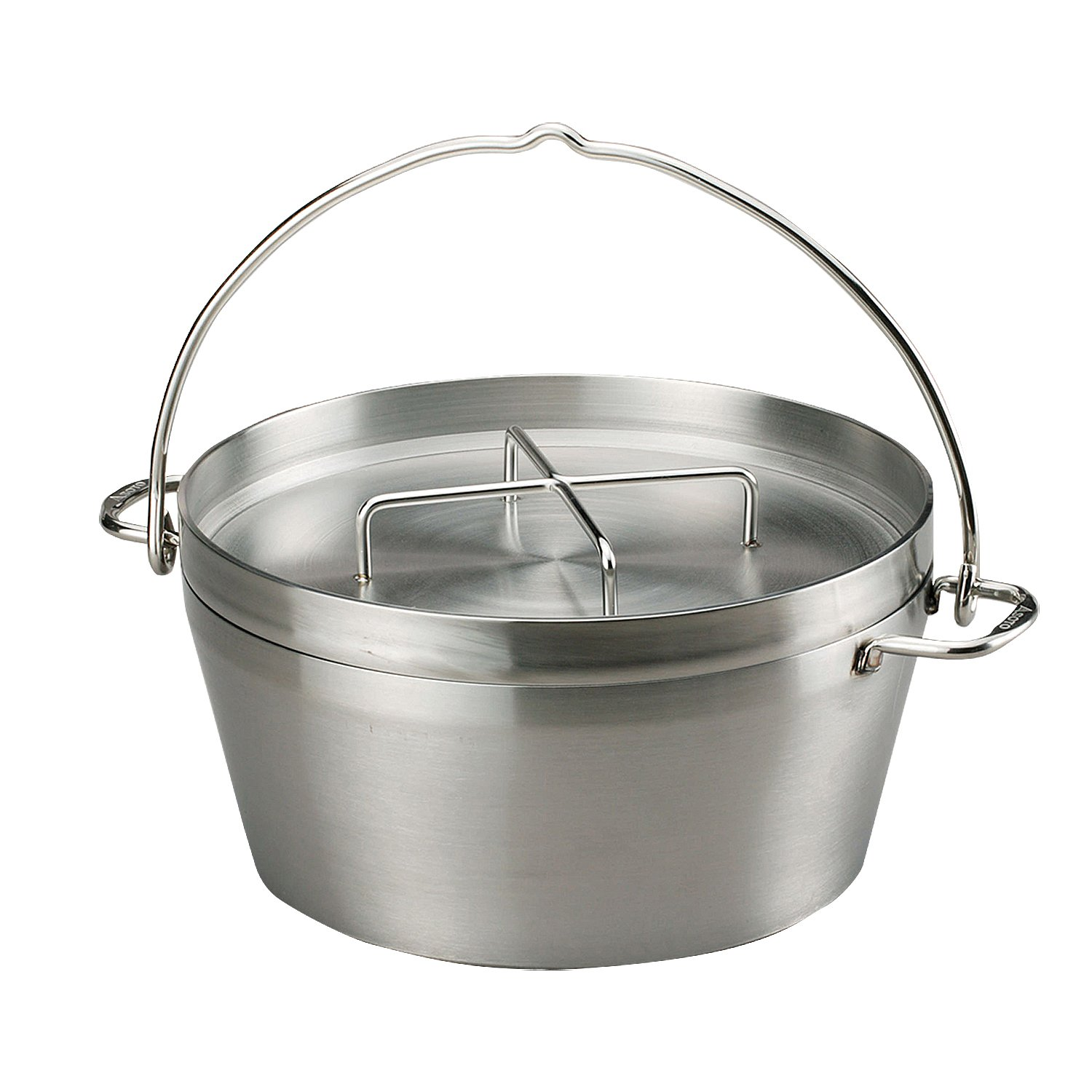 G-tough Edelstahl Dutch Oven 30,5 cm