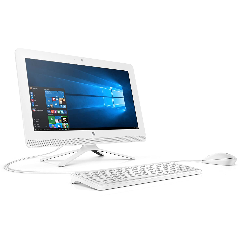 "Amazon HP 20 c010 19 5"" All In e Desktop Intel Celeron J3060 4GB RAM 1 TB HDD Windows 10 Home puters & Accessories"