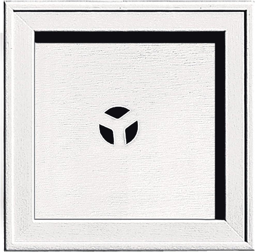 Builders Edge 130110004117 Mounting Block Bright White