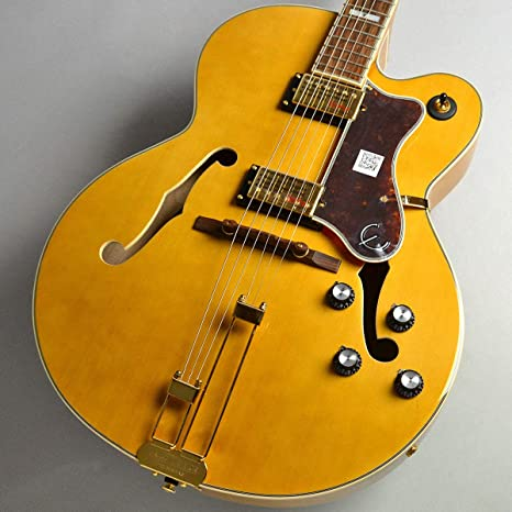Epiphone Broadway guitarra eléctrica – Vintage Natural: Amazon.es ...