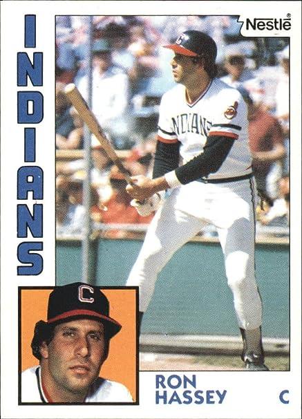 1984 Nestle 792 308 Ron Hassey Baseball Card