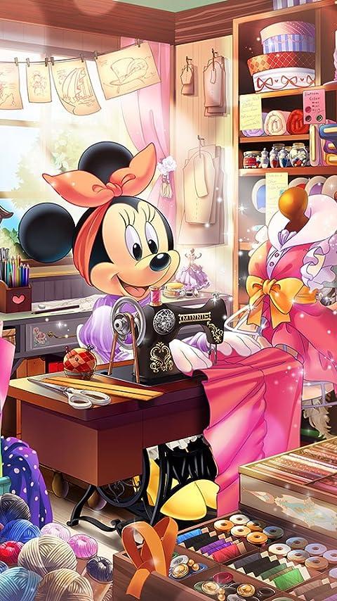 ディズニー ミニーの仕立て屋さん XFVGA(480×854)壁紙 画像69834 スマポ