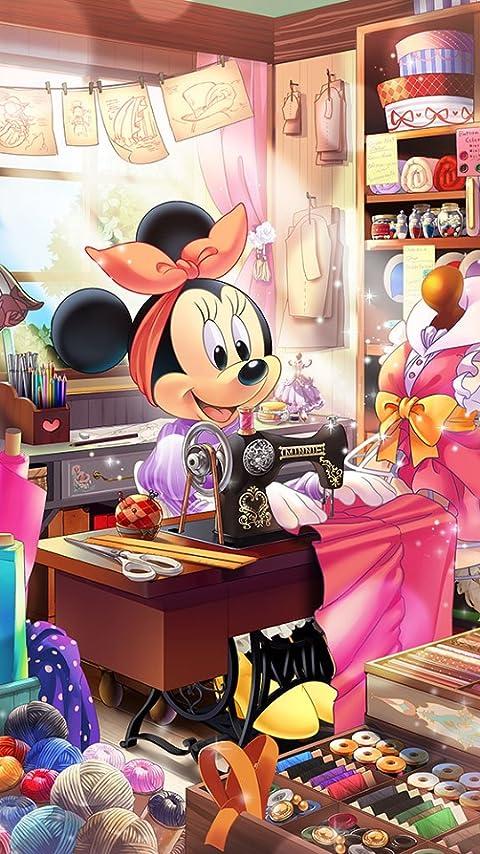 ディズニー ミニーの仕立て屋さん XFVGA(480×854)壁紙 画像67312 スマポ