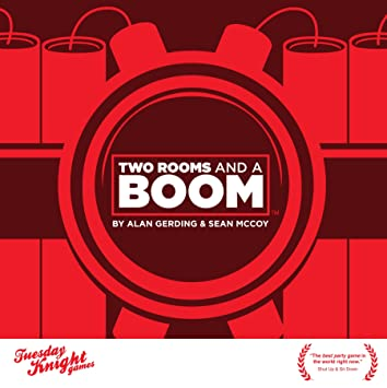 Amazon.com: Two Rooms and a Boom: Toys & Games