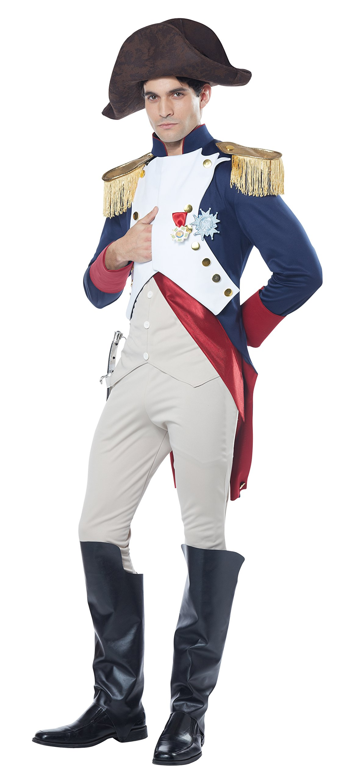 California Costumes Men's Napoleon French Emperor Costume, Multi, Small by California Costumes