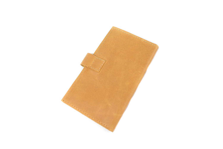 f3a7b5b9b47f Amazon.com: InCarne Slim leather wallet travel wallet thin leather ...
