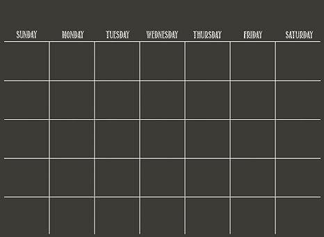 Calendario Scrivibile.Wallpops Calendario Adesivo Da Parete Scrivibile Si Pulisce A Secco Colore Nero