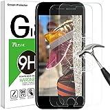 iPhone 8 Plus / 7 Plus Pellicola Protettiva, [2 Pack] Rusee Pellicola Vetro Temperato iPhone 8 Plus / 7 Plus, Pellicola Prottetiva iPhone 8 Plus / 7 Plus / 6S Plus / 6 Plus Screen Protector Film 9H Durezza 3D Compatible