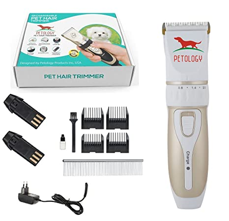 Buy Petology Automatic Rechargeable Pet Hair Trimmer With Extra