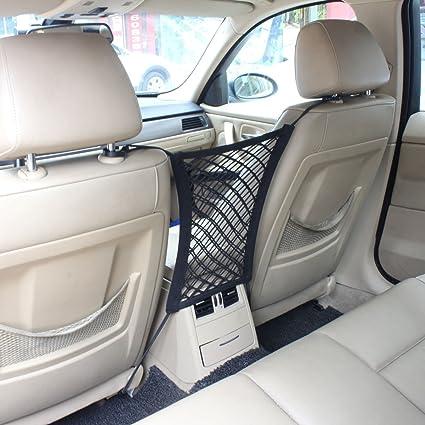 Amazon Com Tomall Car Seat Storage Mesh Hook Organizer For Ipad