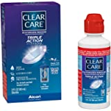 Clear Care Cleaning & Disinfection Solution with Lens Case, 3-Ounces