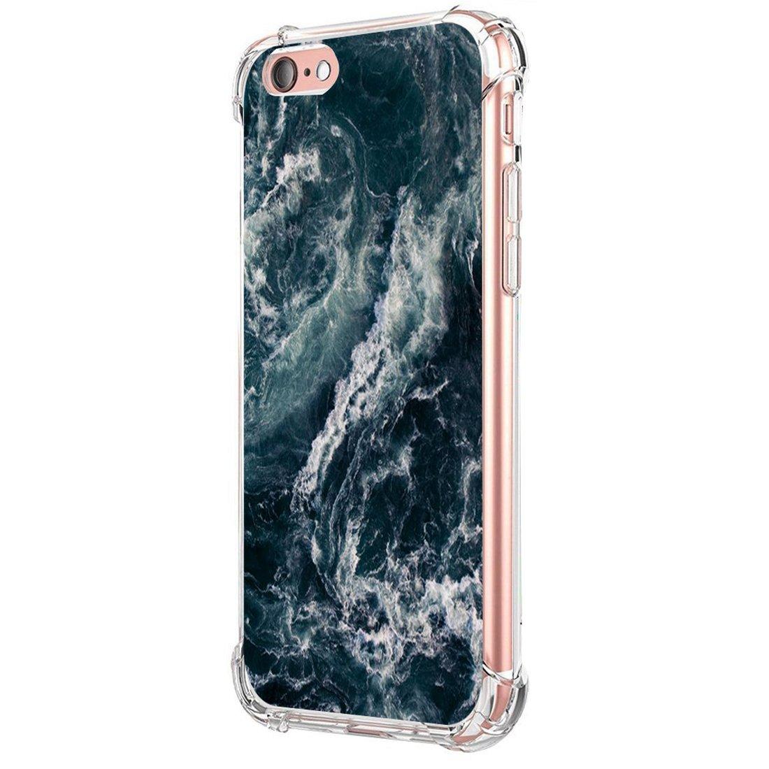 iPhone 6//6S Plus, m/ármol 04 JEPER Funda iPhone 6S Plus Carcasa Silicona Transparente Protector TPU Airbag Anti-Choque Ultra-Delgado Anti-ara/ñazos M/ármol Case para Apple iPhone 6 Plus Caso Caja