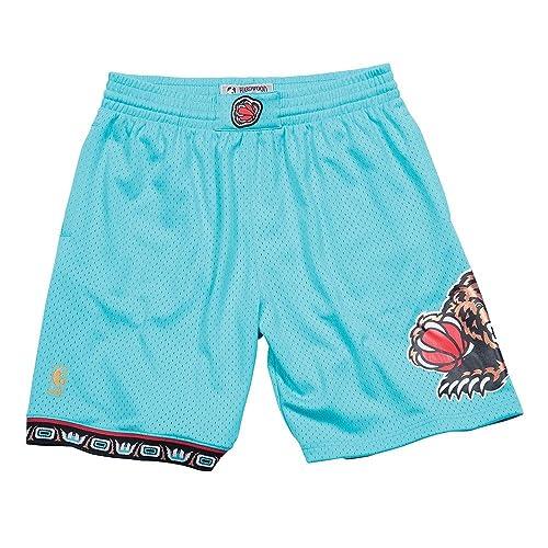 Mitchell & Ness Vancouver Grizzlies Aqua Swingman Shorts