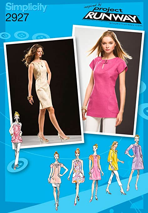 Simplicity Sewing Pattern 2927 Misses Dresses, D5 (4-6-8-10
