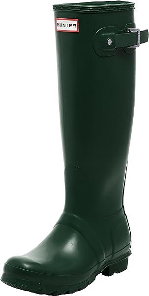 reputable site ae97a 61d4a Hunter - Original Tall - Bottes - Femme - Vert (Hunter Green) - 36