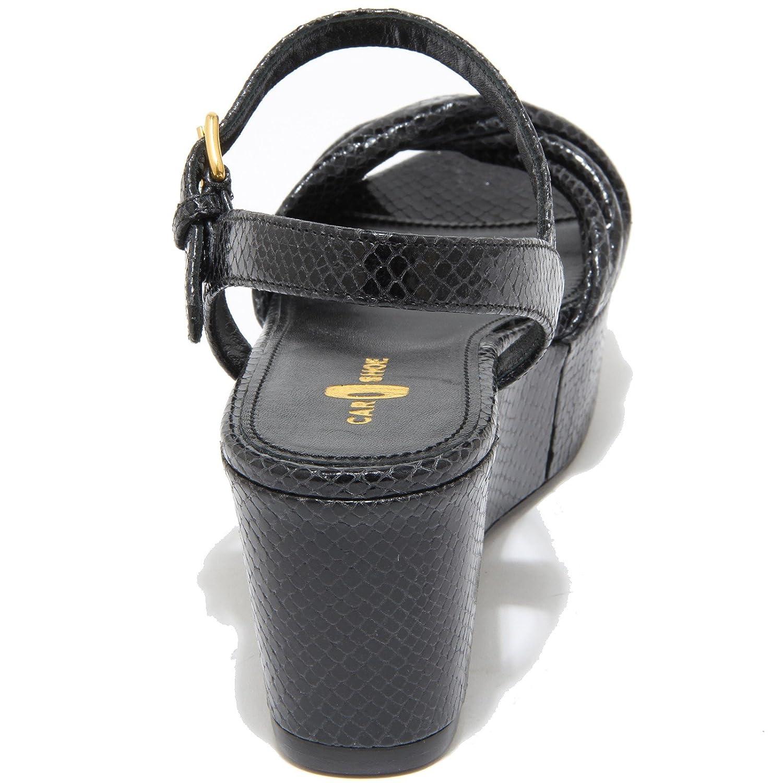 Car scarpe 7954I Nero Sandalo Zeppa Donna Sandals Donna nero. nero. nero. 10269e