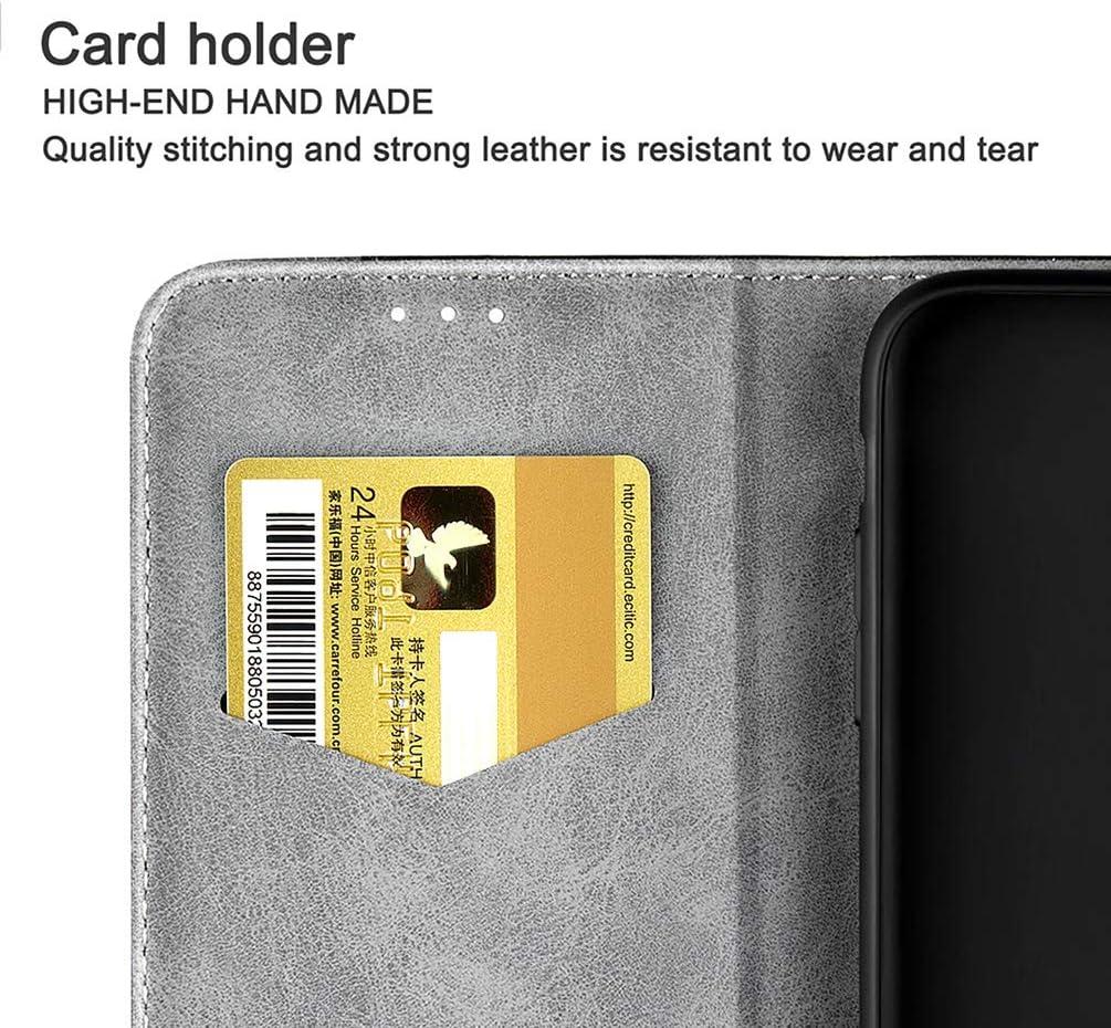 Funda para Xiaomi Redmi Note 7/7 Pro, Flip Cover Cuero Sintetico ...