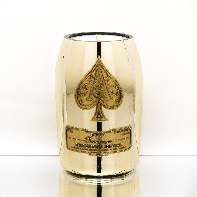 Champagne Original Bottles Candle Vessels