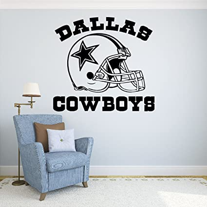 Dallas cowboys vinyl decal sticker wall football logo nfl sport home interior removable decor 22quot