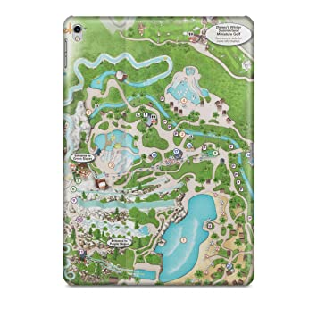 Amazon Com Queen Of Cases Blizzard Beach Map Tablet Hard Shell Case