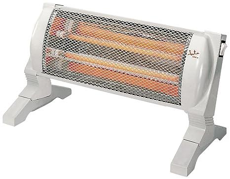 Jata CR89C - Radiador, 2 tubos de cuarzo radiante