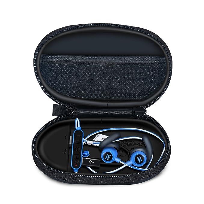 be2ecd1098e Esimen Double Output Ports Wireless Bluetooth Headphone Charging Case for  Jaybird X3 Beats X Powerbeats 3