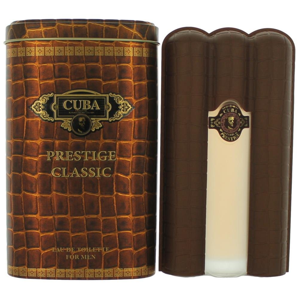 Champs Cuba Prestige Eau de Toilette Spray for Men, 3 Ounce