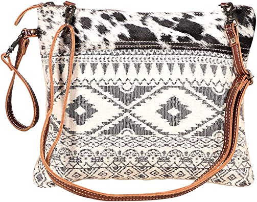 Myra Bags Classic Canvas Rug Leather Hairon Crossbody Bag S 1932 Handbags Amazon Com We're very pleased to announce the myra bag collection has arrived at linda's stuff, first in canada to be offering this collection. myra bags classic canvas rug leather hairon crossbody bag s 1932