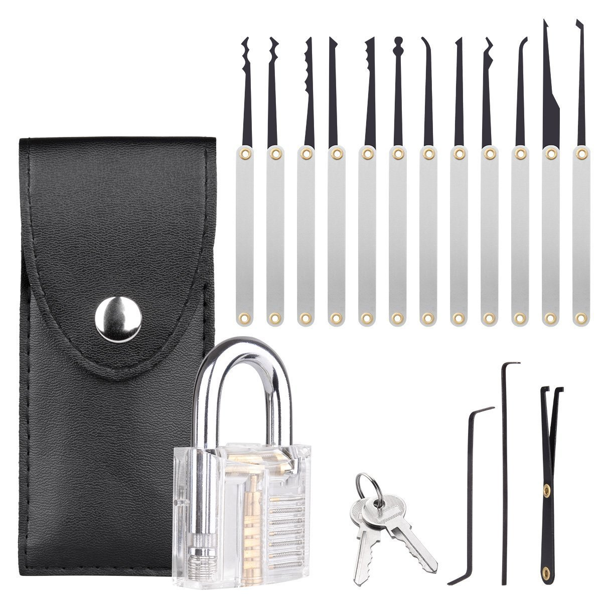 Professional practice Tools 15 Piece Multi-Tool Set and Training Kit for Beginners and Professionals by Blinyang (Image #1)