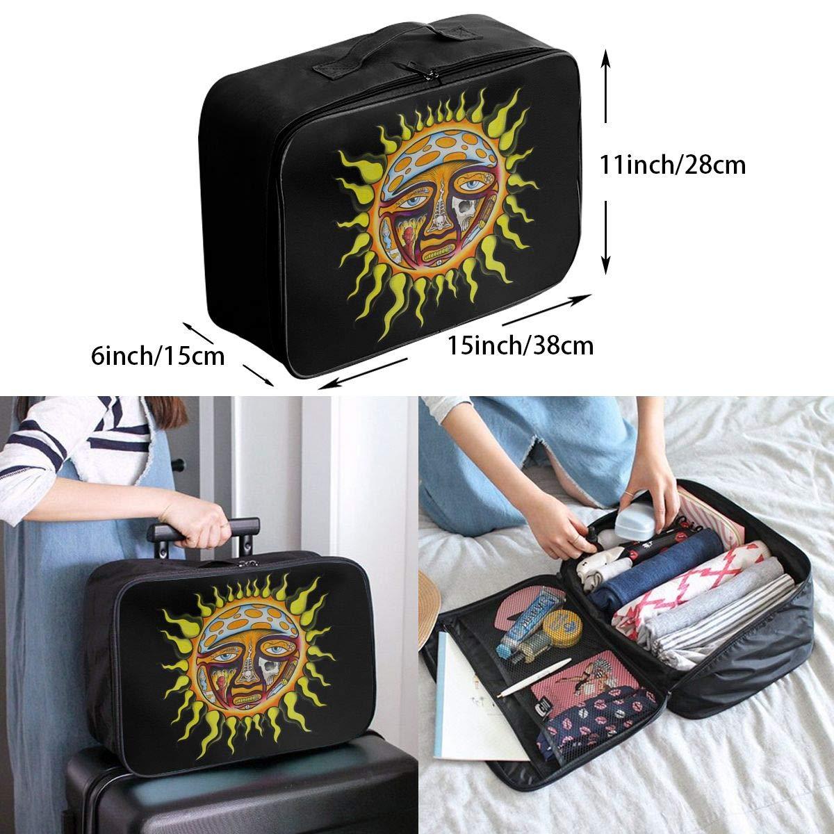 Sublimes Iconic Sun Logo Travel Bag Men Women 3D Print Pattern Gift Portable Waterproof Oxford Cloth Bags