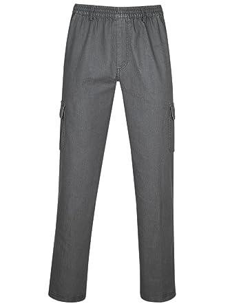 gehobene Qualität Genieße den niedrigsten Preis bis zu 80% sparen PAPADAY Herren Baumwoll Stretch Schlupfhose in Jeans-Optik