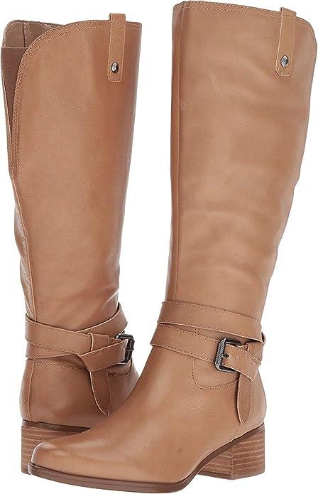 1e38181a8fc Naturalizer Women s Dev WC Knee High Boots Black  Amazon.ca  Shoes ...