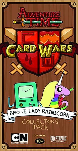 Cryptozoic Entertainment Adventure Time Card Wars (BMO Vs Lady Rai), Card Games - Amazon Canada