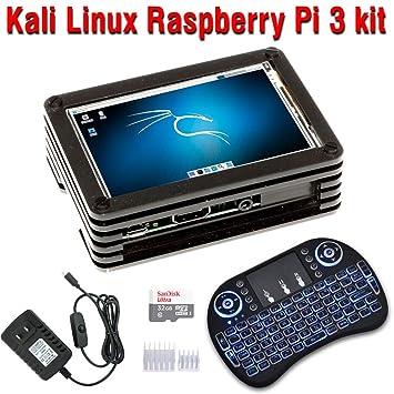 Amazon.com: CrispConcept Kali Linux 2 32 GB Raspberry Pi 3 ...