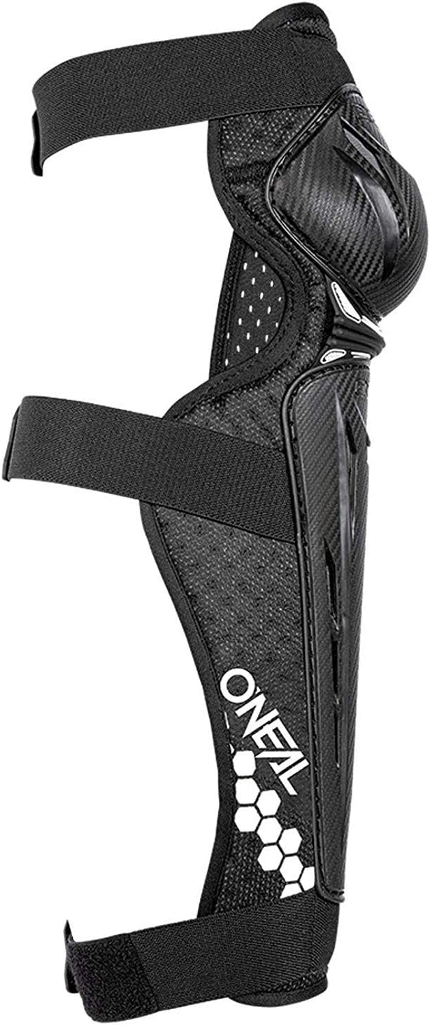 Oneal Trail FR Carbon Look Knee Guard schwarz//wei/ß MX Motocross Protektoren