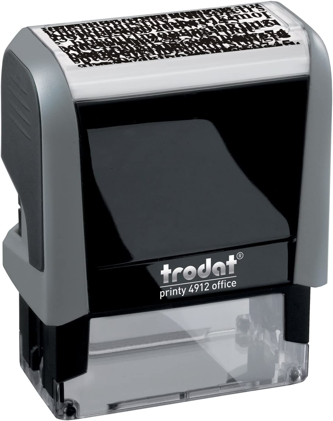 Black Trodat Replacement Pads 6//4912BLK 2 Pack Printy 4912 Stamp