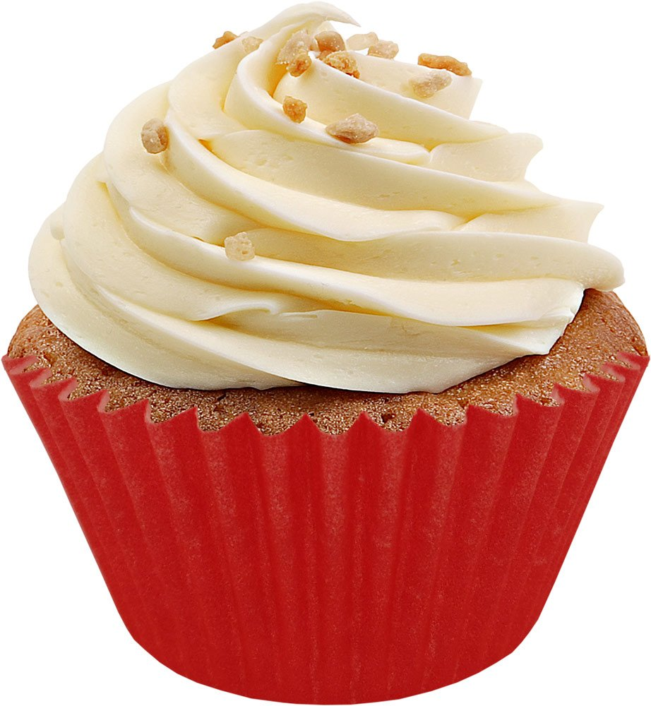 Red Cup Cake Cases (Pack Of 50) Bakeart