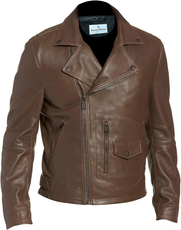 Men/'s Faux Leather Jacket Empirical Selection Faux Leather Jackets Men