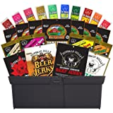 Buffalo Bills 25-Piece Beef Jerky & Beef Stick Sampler Gift Tool Box (filled with 25 assorted packs)
